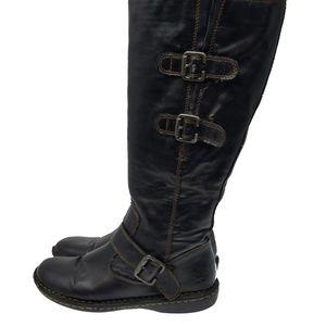 BOC by Born Sz 7.5M EU 38.5 Black Zip Up Comfort